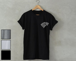House Stark T-Shirt tv series Unisex T-Shirt game of thrones jon snow wi... - $14.99