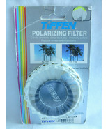Tiffen 49mm LINEAR POLARIZER FILTER old stock new 49 - $28.38