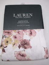 "Ralph Lauren Shower Curtain 100% Cotton TWILL 70"" x 72"" FLORAL MULTI COL... - $149.50"