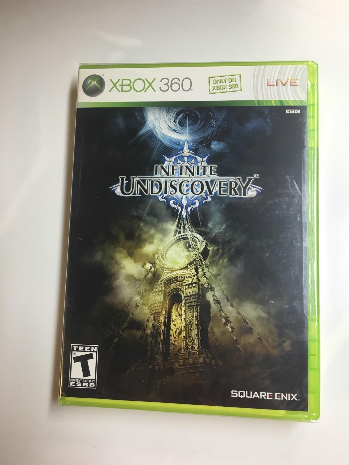 Primary image for Infinite Undiscovery Microsoft XBOX 360 2008 NEW FACTORY SEALED