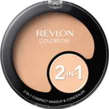 Revlon Colorstay 2 in 1 Compact Makeup and Concealer 110,150, 180, 200, ... - $7.67