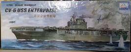1/700 CV-6 USS Enterprise Motorized WWII Aircraft Carrier Model Kit by MHM - $14.85