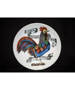 "Old Vintage Cock Weather Vane 19th Century 4"" Plate Lipper & Mann Japan - $12.86"