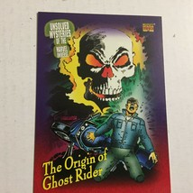 1993 Marvel The Origin of Ghost Rider Comic Trading Card - $1.99
