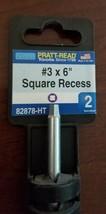 Pratt-Read #3x6 Square Recess Screwdriver,No 82878-HT - $7.92