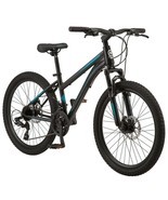 "Girl's 24"" Schwinn Sidewinder Mountain Pro Bike Off Road Tires 21-Speed ... - $284.15"