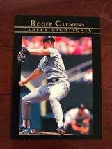 1992 Fleer - Roger Clemens - Career Highlights #6 - $0.99