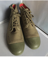 "BANGS, ""Stand on Issues""  sneakers   - Green Development Size 13 - $19.95"