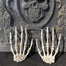 Pair Plastic Skeleton Hands 2pcs Haunted House for Halloween Decoration ... - $4.99