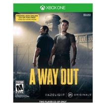 A Way Out - Xbox One Video Game [New] - $36.87