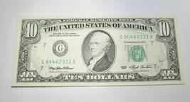 1993 $10.00 Federal Reserve Offset Printing Error Note Gem CU C342 - $635.92