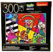 "New Cardinal Britto Spongebob Squarepants 300 Pc Jigsaw Puzzle 24"" x 18"" - $29.65"