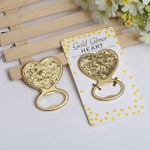 Bottle Opener Creative Metal Glod Heart Beer Personalized Favors &Gifts ... - £3.96 GBP