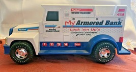 Nylint My Armored Bank Armored Car Sound Machine Talking Bank 1994 image 2