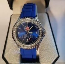 MLB Chicago Cubs Women's Sparkle Watch - $56.83
