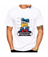 Anime Donald t-shirt MEN TOPS short sleeve casual funny cartoon dog mous... - $26.90