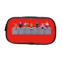 Roblox Pen Case Theme Cute Series Pencil Box Pencil Bag Red Doll - $13.99