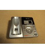 AT&T Digital Answering Machine Base 5.8 GHz Silver/Black E6014B - $21.34