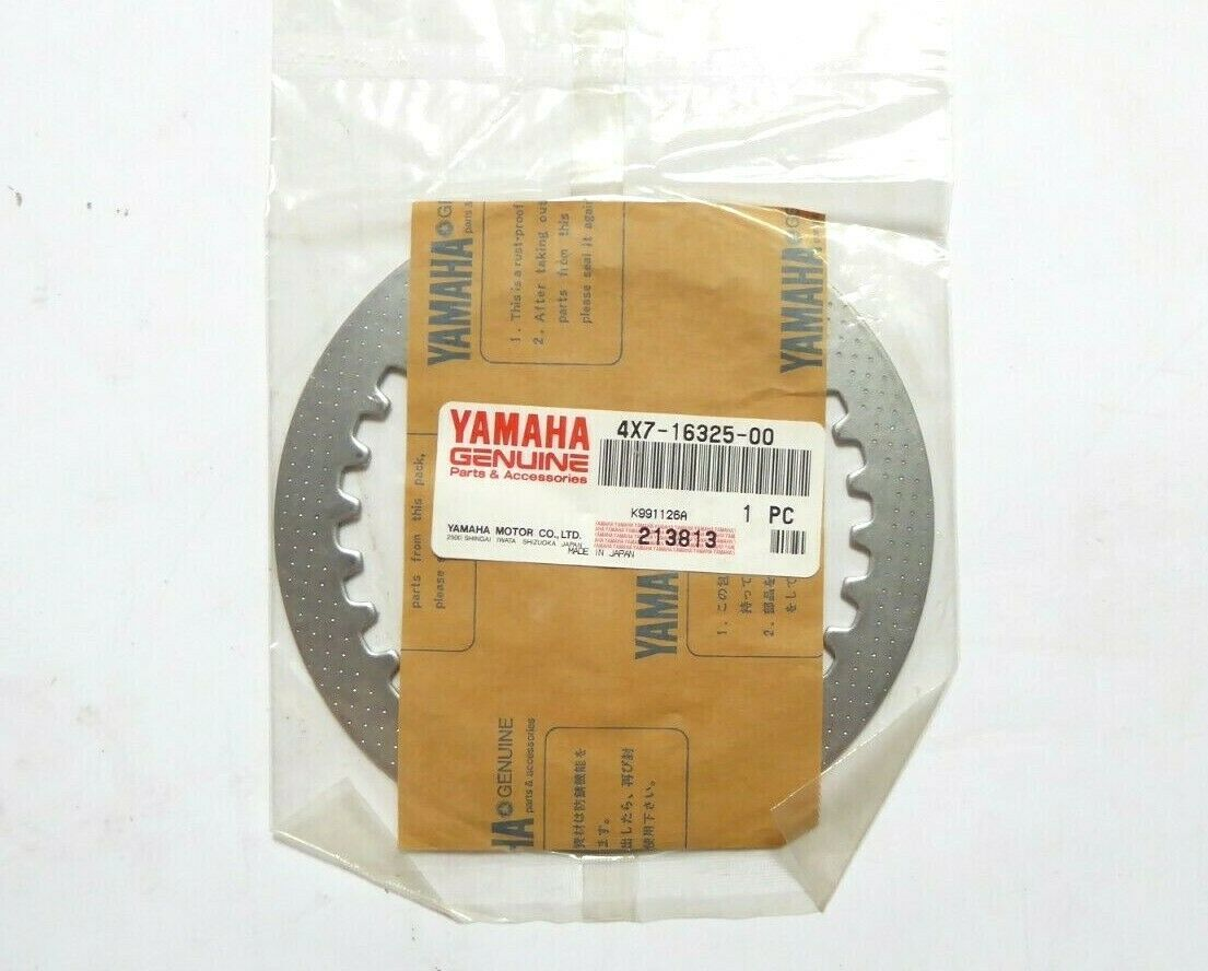 Yamaha 4X7-16325-00 Friction Clutch Plate Pack of 2 New