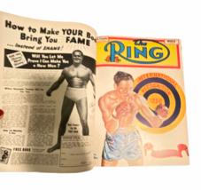 Vtg The Ring Magazine World's Official Boxing Bound Volume Feb 1950 - Jan 1951 image 3