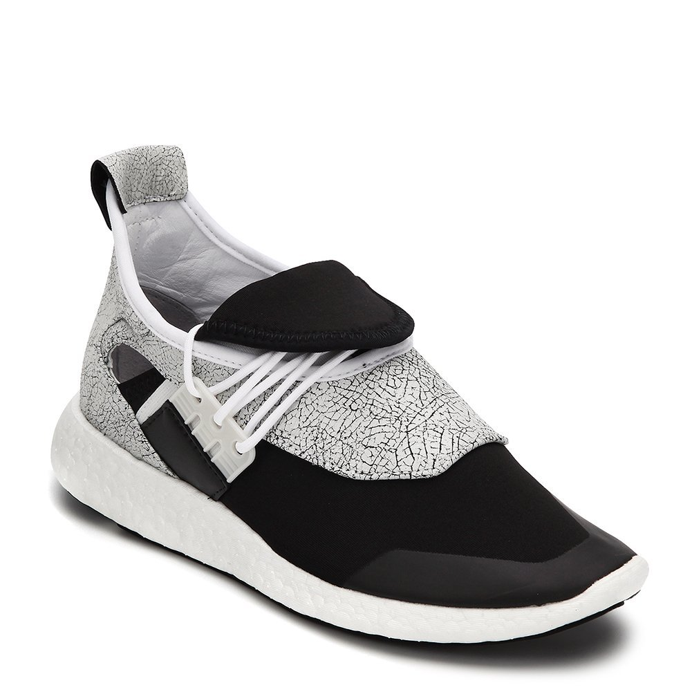 Y-3 Women's Elle Run Sneakers BY2567 White/Black/Scarlet (UK 5.5 / US 7)