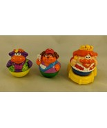 Weebles King Yellow Rocking Chair Throne Dog Hippo Toy Playskool - $10.95