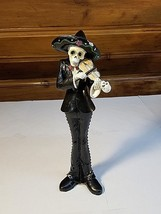 Day of the Dead Sugar Skull Statues- Halloween Figurine - Your Choice!!!!!! - $24.30+