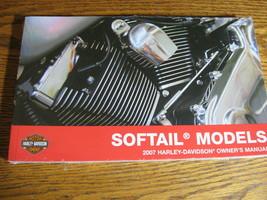 2007 Harley-Davidson Softail Owner's Owners Manual FLS FXS Original NEW - $68.31