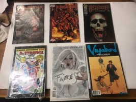 6 Comics Vagabond, Fairest, Dr Strange Promo Masterwork, Purgatori(2), N... - $27.91