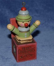 1977 Hallmark   Yester Years  JACK IN THE BOX ORNAMENT - $11.99