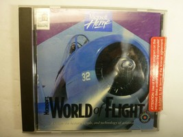 Microsoft World of Flight Computer Game -  Windows 95/98 - $13.35 CAD