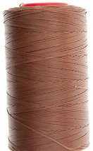 0.6mm Havanna Cigar 25 Tiger Wax Thread For Hand Sewing. 25 - 1000m length (50m) - $10.78