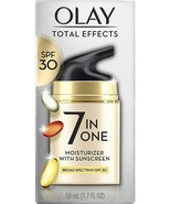Olay Total Effects 7 in One Anti-Aging Daily Moisturizer with Sunscreen ... - $18.69