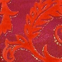 The Ribbon People Mahogany and Tangerine Orange Velvet Glitter Swirl Wir... - $53.95