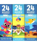 Pinkfong Baby Shark - 24 Pieces Jigsaw Puzzle (Set of 3) - $17.81