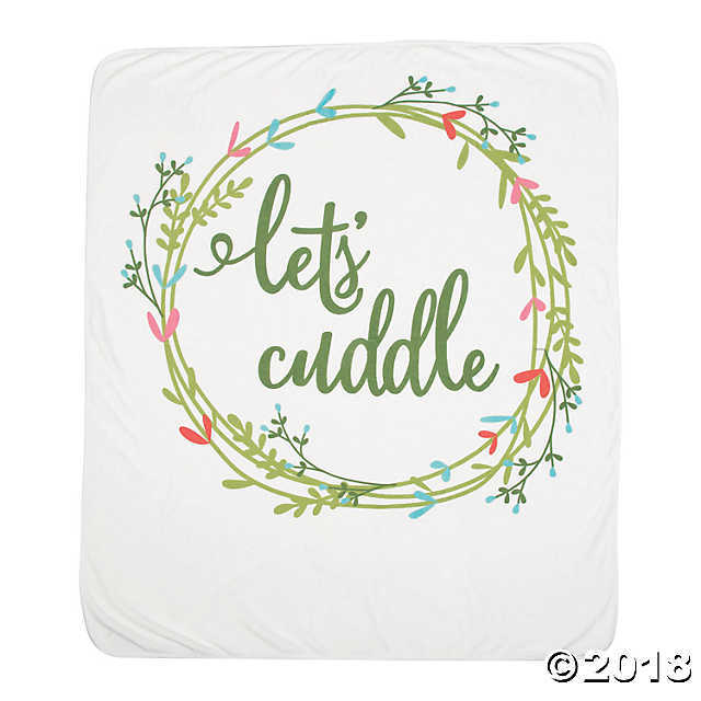 Primary image for Let's Cuddle Wedding Throw