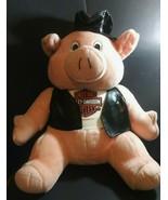 Large 26  Inch Harley Davidson Biker Hog Hog Plush Stuffed Animal HTF  Size - $98.97