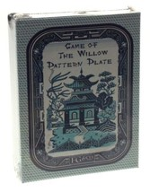 FG & Co Card Game of the Willow Pattern Plate Printed USA Tchin Reproduc... - $6.99