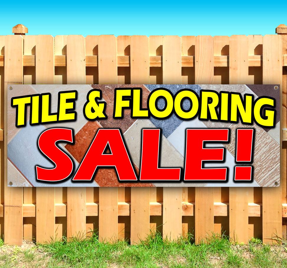 Tile Flooring Sale Advertising Vinyl Banner Flag Sign Many