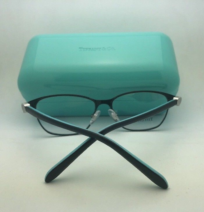 e77ce17987 New TIFFANY   CO. Eyeglasses TF 2168 8055 54-17 140 Black Blue ...