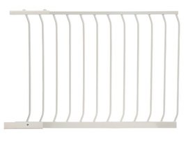Dreambaby 39 in. White Chelsea Extension