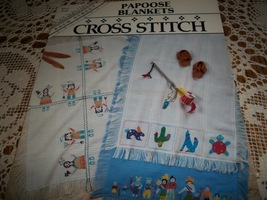 Papoose Blankets Cross Stitch Chart - $7.00