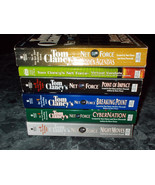 Tom Clancy Net Force Series lot of 6 Suspense paperback - $7.99