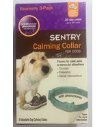"Sentry Calming Collar for Dogs 3 Month Supply Scented Up to 23"" neck Phe... - $46.73"