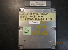 98 FORD VAN PICKUP 6.8L V10 ECM #F8UF-12A650-ACB *See item description* - $162.74