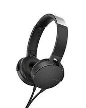 SONY MDR-XB550AP/B Black On Ear EXTRA BASS Headphones - $45.09