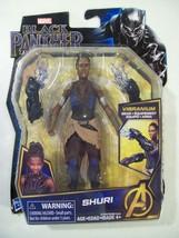 "NEW MARVEL BLACK PANTHER SHURI VIBRANIUM 5"" ACTION FIGURE HASBRO AVENGER... - $12.69"