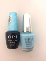 OPI GelColor I believe in Manicures #H01 + Infinite Shine #H44 FREE SHIP... - $21.78