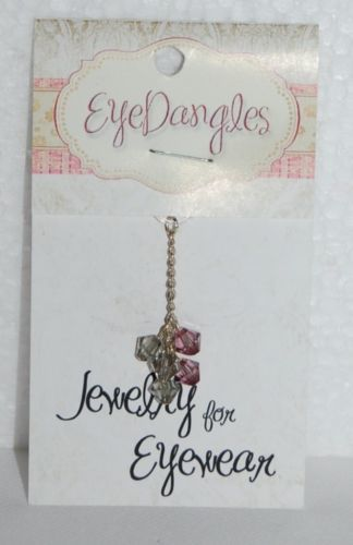 EyeDangles Jewelry Eyewear Light Blue Green Purple Cluster Crystals 57026 Cluste