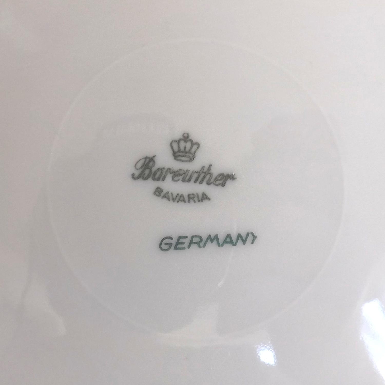 Bareuther Waldsassen Bavaria Pattern 7 Piece Place Setting Fine China (Germany)